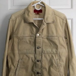 Tan French Connection corduroy jacket
